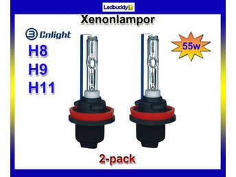 CNLight H8 H9 h11 6000k Xenon Lampor 55W High Quality HID !!
