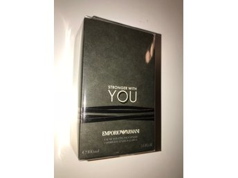 Emporio Armani Stronger with you parfym 100 ml OÖPPNAD