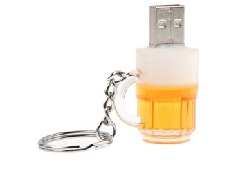 Ölglas USB Minne 16GB