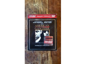 American Gangster / Denzel Washington / Russel Crowe / HD DVD (combo format)
