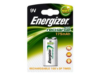 Energizer Laddningsbara NiMH-batteri E-Block 8.4 V Power Plus 175 mAh 1-Blister