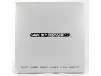 Gameboy Advance SP Console (Silver) -  - PAL (EU)