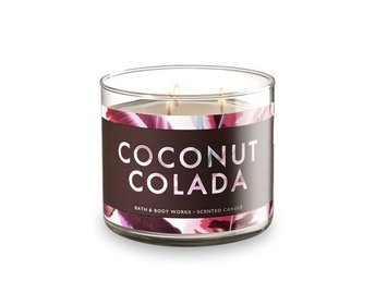 Bath & Body Works COCONUT COLADA  3-Wick Candle