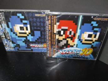 Mega Man 9 och 10 Original Soundtrack Musik ~ Inplastade NYA MINT