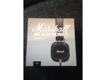 Marshall Headphones Major II Nya i förpackning!