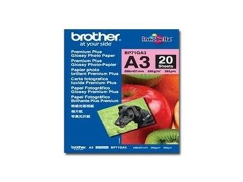 Papper Brother BP71GA3 20 ark, Glossy, A3