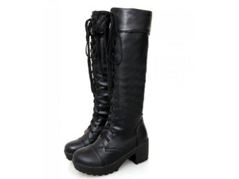 Dam Boots strap boot footwear heels shoes P20542 Black 36