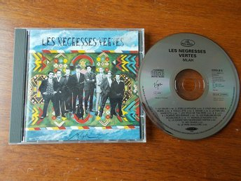 LES NEGRESSES VERTES - Mlah, CD Virgin 1991 Holland