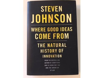 NY! Where good ideas come from / S. Johnson. Låg frakt.