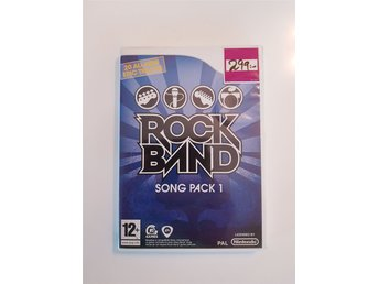 Ny! GUITAR HERO ROCK BAND song pack 1 / Nintendo Wii / Wii U / PAL.