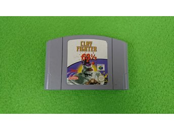 Clay Fighter 63/3 N64 Nintendo 64 Clayfighter 63