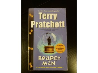 "Terry Pratchett ""Reaper Man"" Discworld pocket"