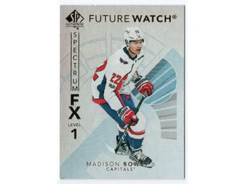 17-18 SP Authentic Spectrum FX Future Watch Bounty Madison Bowey