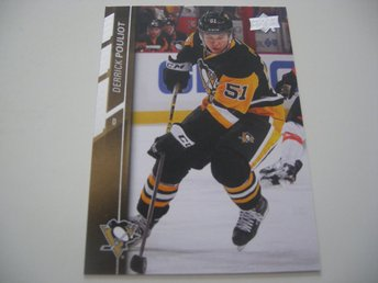 UD Series One 15/16 #144 Derrick Pouliot - Pittsburgh Penguins