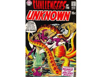 Challangers of the Unknown nr 77 1971 / FN+ / mycket snygg