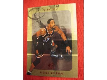 ALONZO MOURNING - SP AUTHENTIC 1997-98 - MIAMI HEAT - BASKET
