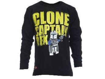 T-SHIRT,CLONE CAPTAIN SVART-128