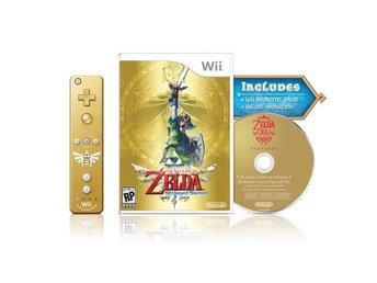 Zelda: Skyward Sword Limited Edition with Gold Remote Controller - Nintendo Wii