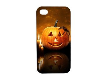 Halloween glad pumpa iPhone 4 (4S) skal / mobilskal - Karlskrona - Halloween glad pumpa iPhone 4 (4S) skal / mobilskal - Karlskrona