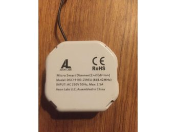 Z Wave Aeon micro smart dimmer 2ed - örnsköldsvik - Z Wave Aeon micro smart dimmer 2ed - örnsköldsvik