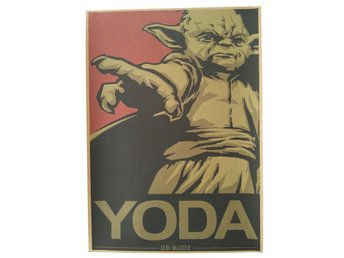 Yes We Can Yoda Star Wars Poster Affisch 42cm*30cm Ny
