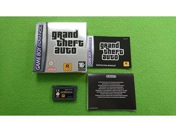 GTA Advance Komplett Gameboy Advance GBA - Västerhaninge - GTA Advance Komplett Gameboy Advance GBA - Västerhaninge