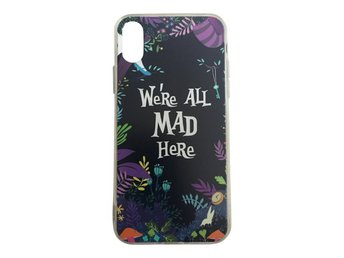 iPhone X We´re all mad here - Alice I Underlandet