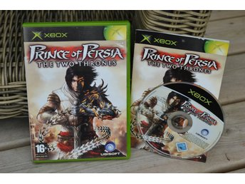 Prince of Persia: Two Thrones XBOX Komplett Fint Skick