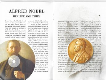 ALFRED NOBEL the man and the prize