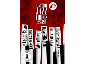 Historic Jazz Videos 1927-1954 (4 DVD)