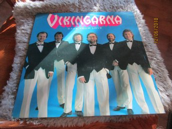 VIKINGARNA - SAVE YOUR LOVE - LP