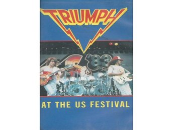 Triumph ‎–Live At The US Festival 1983 vhs official European