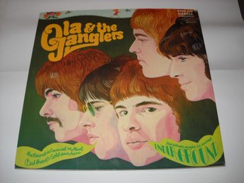 OLA & THE JANGLERS - UNDER GROUND  LP  NEAR MINT !  TOPP EX
