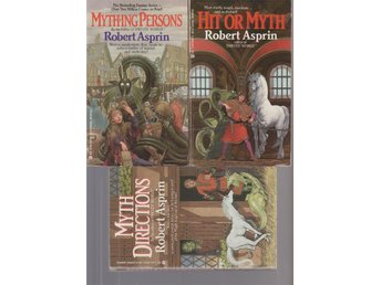 ROBERT ASPRIN MythDirections,Mything Persons,Hit or Myth ACE FANTASY 1985 -86