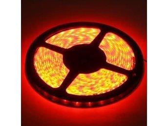 Ljusslinga 5 meter röd, vattentät - 60 LED / meter ledstrip - Kode - Ljusslinga 5 meter röd, vattentät - 60 LED / meter ledstrip - Kode