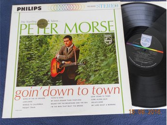 PETER MORSE - Goin' down to town, Philips PHS 600-059, folk LP USA 60-tal Stereo