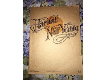 Neil Young -- Harvest 1972 Songbook Sheet Music Song Book -Vintage Book - Laholm - Neil Young -- Harvest 1972 Songbook Sheet Music Song Book -Vintage Book - Laholm