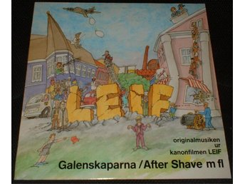 GALENSKAPARNA & AFTER SHAVE LP Leif 1987