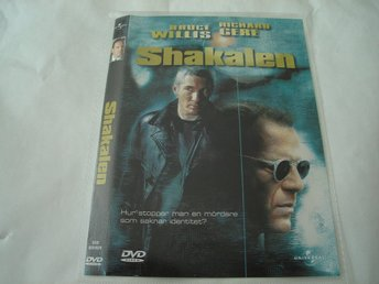 DVD-SCHAKALEN *Bruce Willis, Richard Gere*