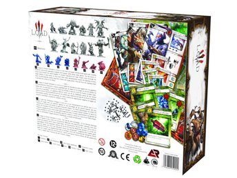 League of Ancient Defenders ( LOAD ) MOBA Board Game Basic Game