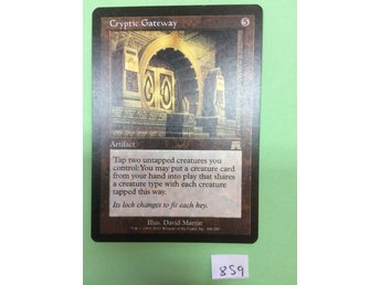 Cryptic gateway - Onslaught - Magic the gathering - Odensbacken - Cryptic gateway - Onslaught - Magic the gathering - Odensbacken