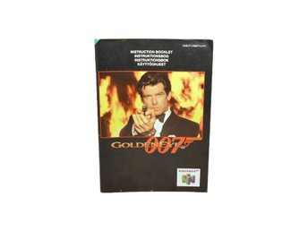 Goldeneye 007 (Manual N64 NUK4)
