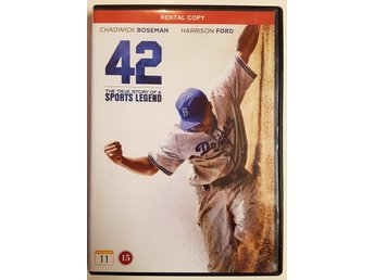 Dvd - 42 The true story of a sports legend