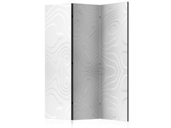 Rumsavdelare - Room divider - White waves I 135x172
