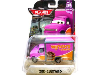 Zed Custard - Disney Planes 2 Original Metal