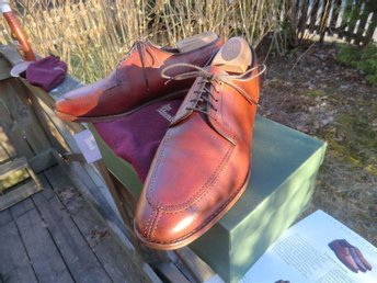 "Allen Edmonds ""LaSalle"" storlek US 9 D split-toe blucher"