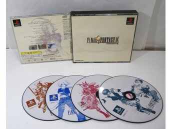 Final Fantasy IX 9 till japansk PS1 playstation