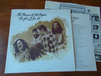 THE MAMAS AND THE PAPAS - People like us, LP Dunhill USA '71