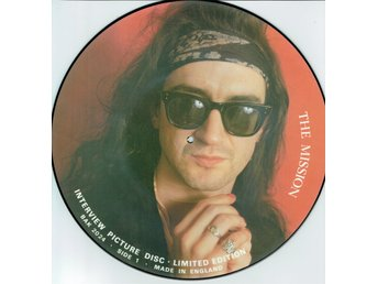 THE MISSION - INTERVIEW PICTURE DISC (LTD EDT) LP