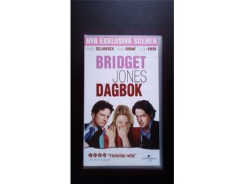 vhs BRIDGET JONES DAGBOK renée zellweger hugh grant colin firth